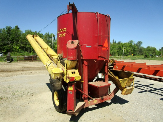 New Holland 355 Grinder Mix Mill!