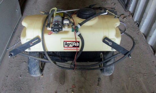Agri-Fab 6' Estate Lawn Sprayer!