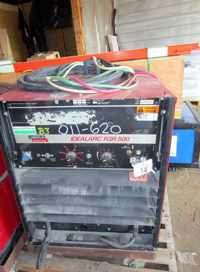 Lincoln Ideal Arc R3R 500 Welder!