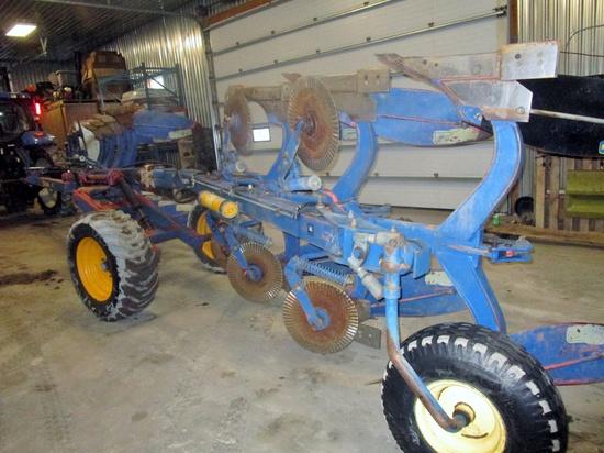 Kongskilde Overum 7 Furrow Roll Over Wagon Plow!