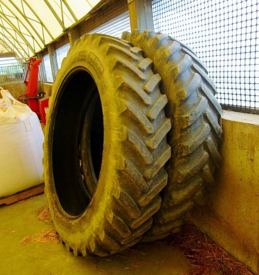 Michelin VF 380/90R50 Sprayer Tires!