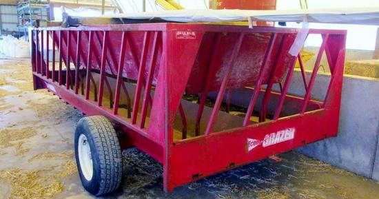 Econo Grazer 14' Cattle Feeder Wagon!