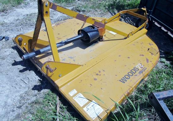 Woods BrushBull Rotary Mower!