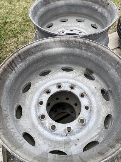 24.5 Aluminum Rims!