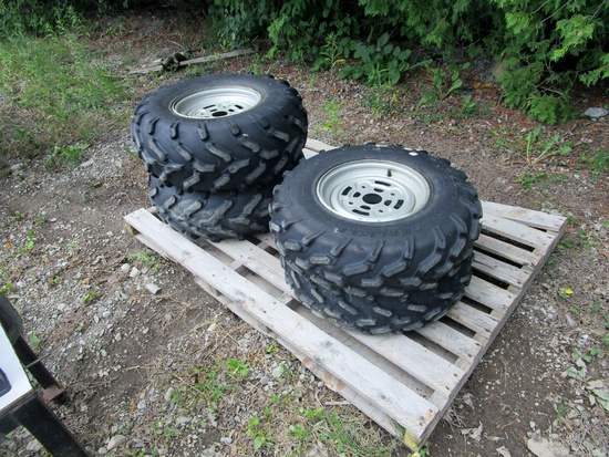 ATV Tires on Rims!