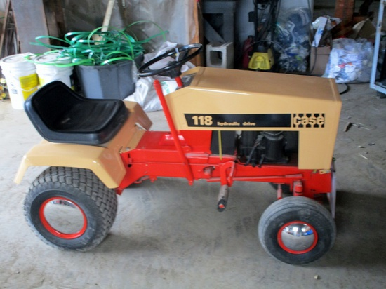 Case 118 Lawn Tractor!