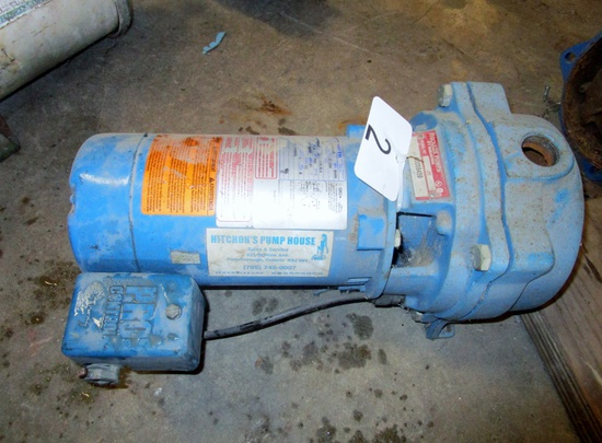 Goulds 1/2 hp Jet Pump!
