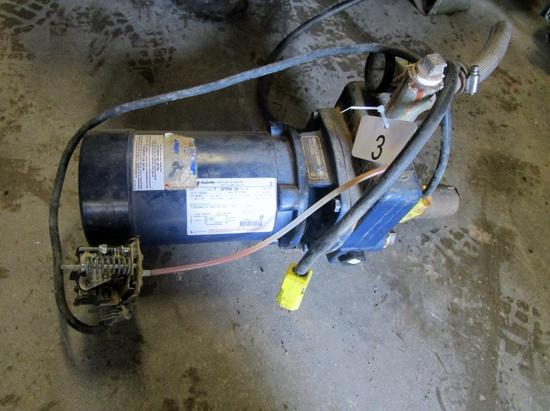 Jacuzzi 1/2 hp Jet Pump!