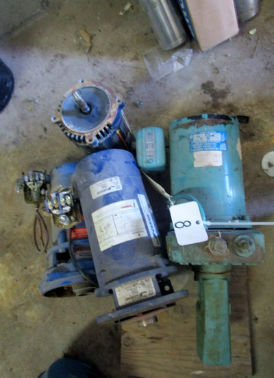 Job Lot Pumps, Parts & Motor!
