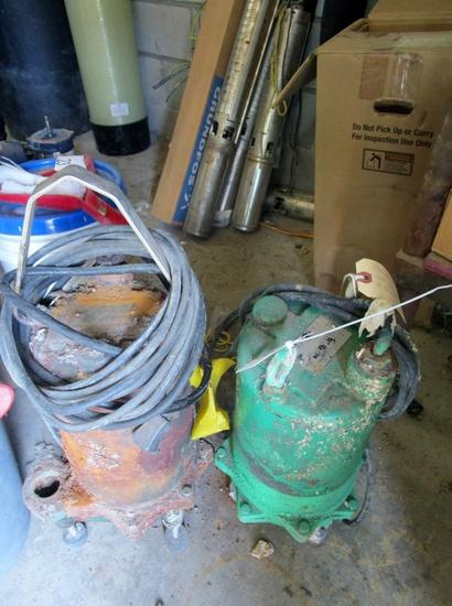 Sewage Pumps!