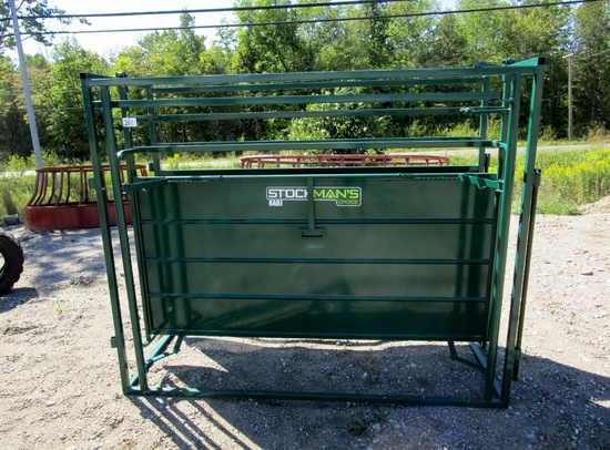 Stockman's Choice 8' Adjustable Alley - New!