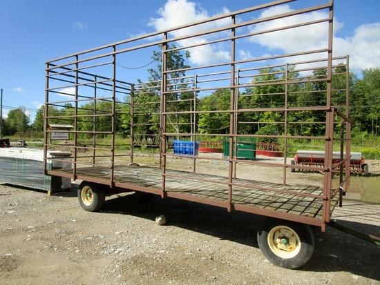 20' Bale Thrower Wagon!