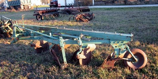 John Deere 3 Furrow Plow!