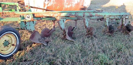 John Deere 5 Furrow Plow!