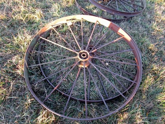 Large Steel Wheels!