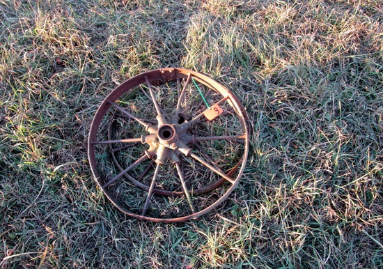 Small Steel Wheels!