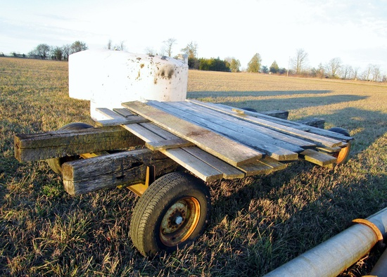 Wooden Wagon, Unassembled!