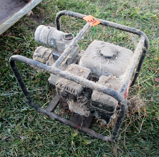 Honda Engine Semi Trash Pump!