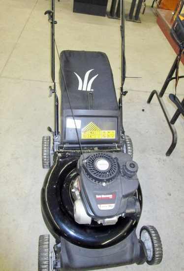 Yard Machines 140 cc Lawn Mower!