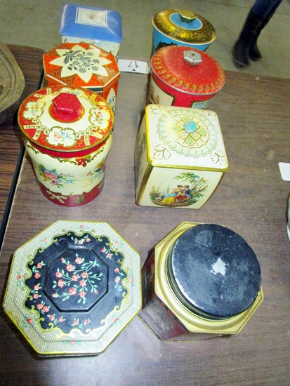 Antique Tins!