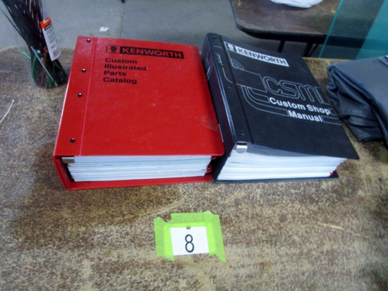 Kenworth Shop Manual & Parts Catalogue!