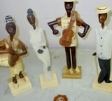 Carved Musicians!