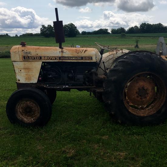 990 David Brown Selectamatic Tractor!