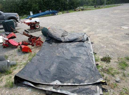 Large Hay tarp!