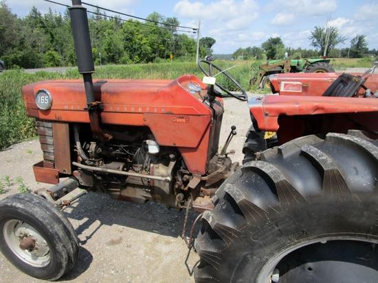 MF 165 Diesel Tractor!