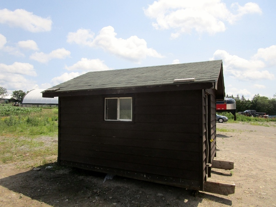 Insulated & Wired Shed!