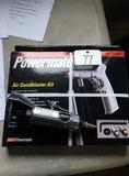PowerMate Air Sand Blaster Kit, Etc.!