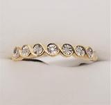 Yellow Gold Diamond Ring - New!
