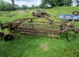 Antique Hay Rake!