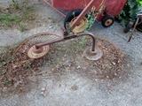 2 Wheel Hay Rake!