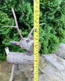 Log Reindeer Ornament!
