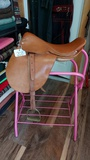 Vintage Saddle!