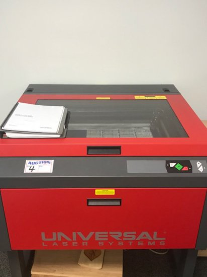 Universal Laser System VL460 included 1 1/2 HP