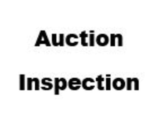 AUCTION INSPECTION!!