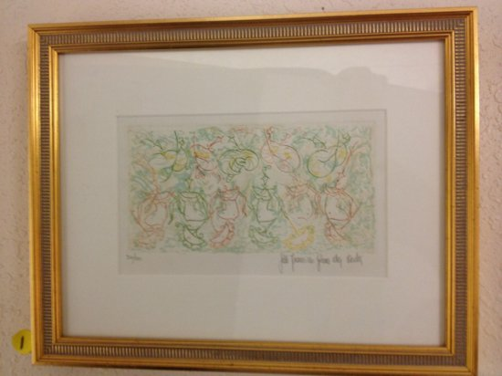 ART - FESTIVE - SIGNED JOAO FRANCISCO GOMES DA COSTO (LOWER RIGHT - PENCIL) - NUMBERED 32/100 (LOWER