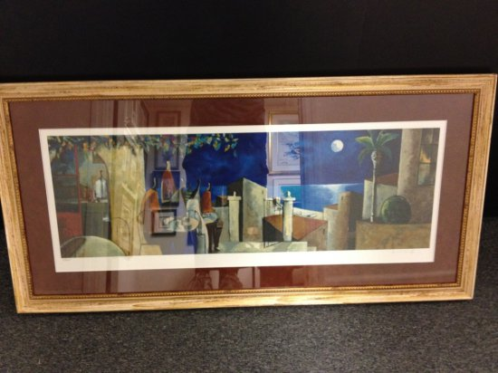 ART - NOCTURNO - SERIGRAPH - SIGNED DIDIER LOURENCO (LOWER RIGHT - PENCIL) - NUMBERED 15/275 (LOWER