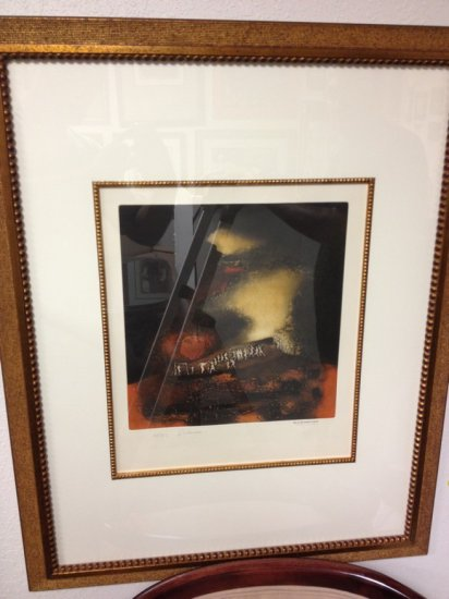 ART - FAIRA E - SIGNED HANS SULIMAN GRUDZINSKI 83 (LOWER RIGHT - PENCIL) - NUMBERED 51/100 (LOWER LE