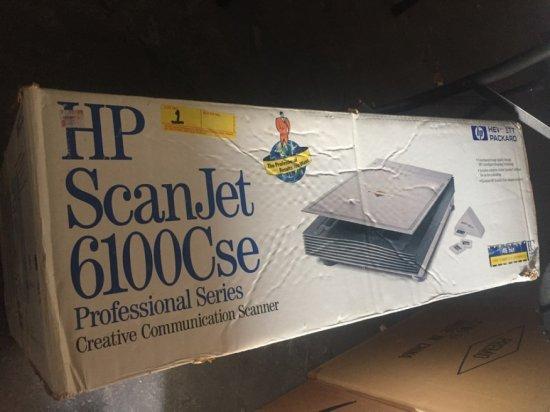 HP SCANJET 6100C SE WITH BOX