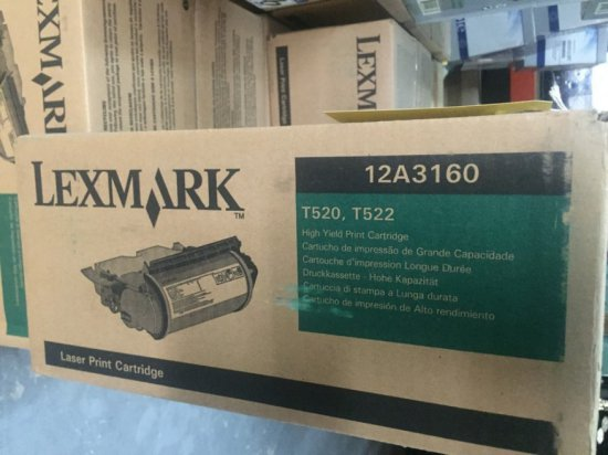 LEXMARK 12A3160 TONER - NIB