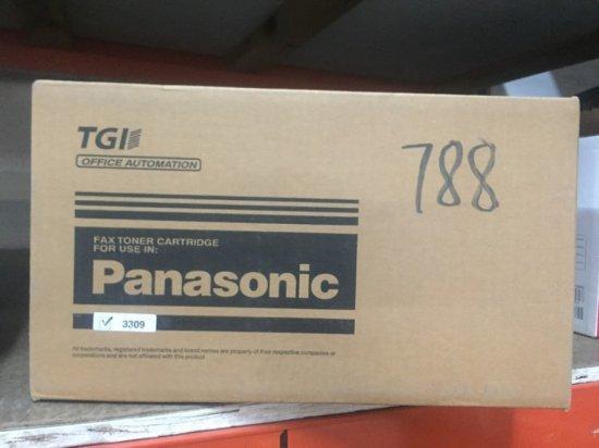 PANASONIC TONER CARTRIDGES - 3309 - NIB