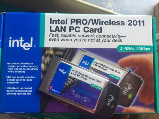 INTEL PRO WIRELESS 2011B LAN POINT ACCESS POINTS - IN BOX