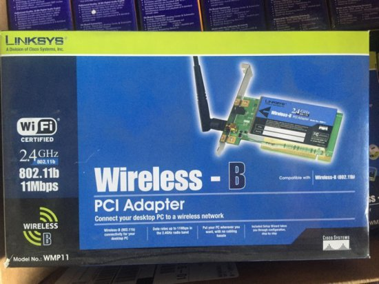 INTEL PRO WIRELESS 2011 LAN PC CARDS - IN BOX