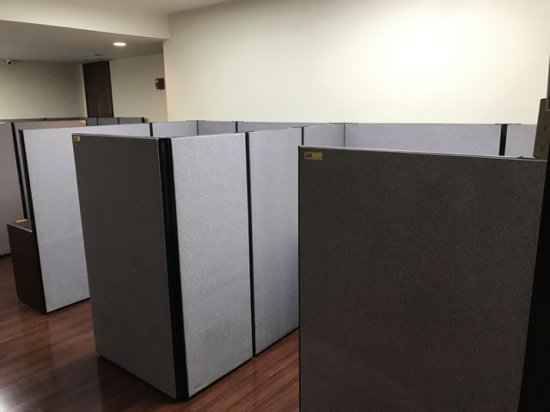 CUBICLES - APPROXIMATELY 8'x6'