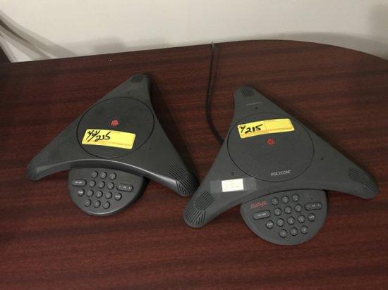 POLYCOM AVAYA TELEPHONE CONFERENCE SPEAKERPHONES
