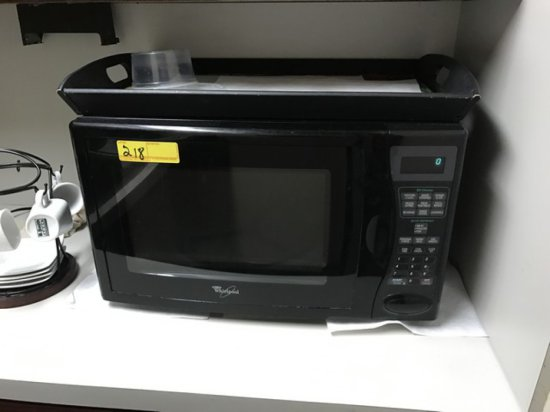 WHIRLPOOL MT1100SHB-0 MICROWAVE OVEN