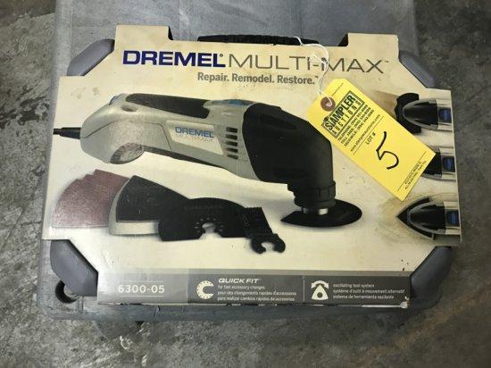 DREMEL MULTI MAX 6300-05 (NEW IN BOX)
